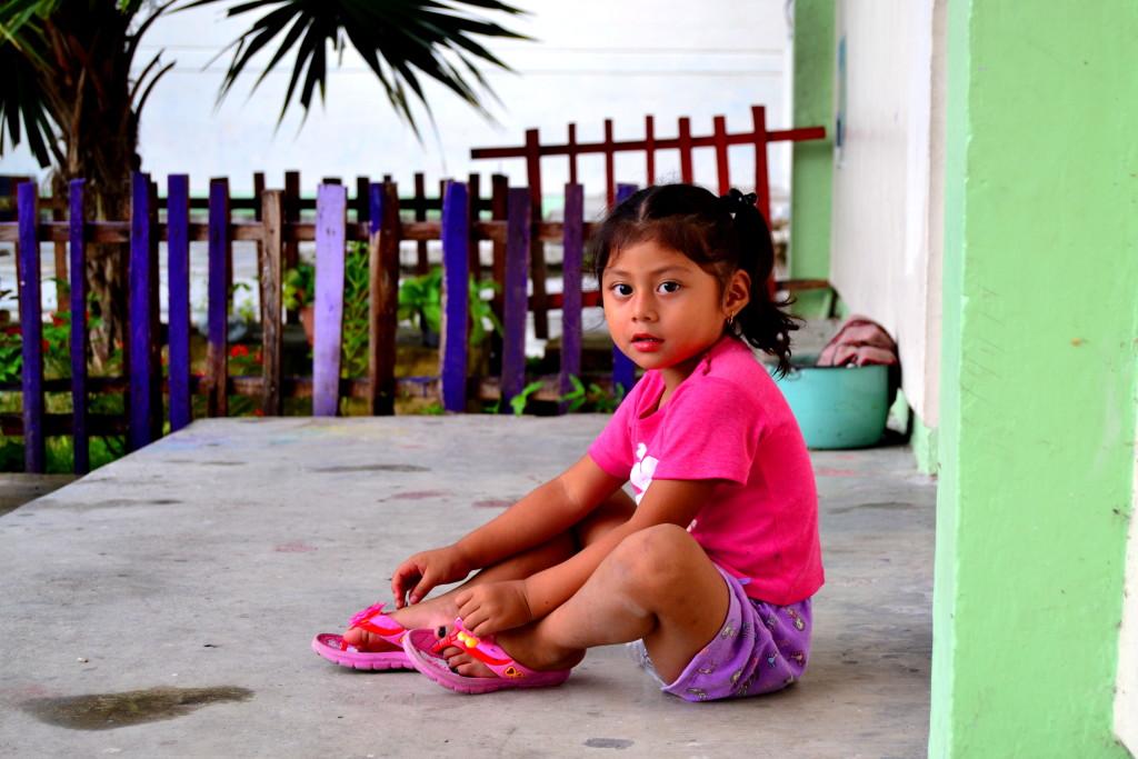 Kids in Calakmul